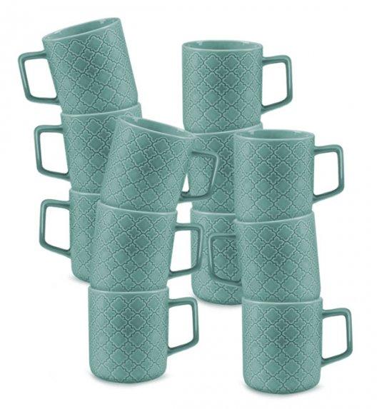 LUBIANA MARRAKESZ K5 12 x Kubek 400 ml / morski / porcelana