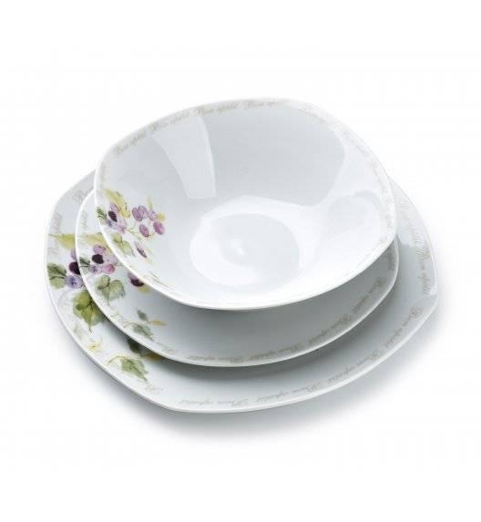 WYPRZEDAŻ! AFFEKDESIGN CRANBERRY Serwis obiadowy 18 elementów / 6 osób / porcelana