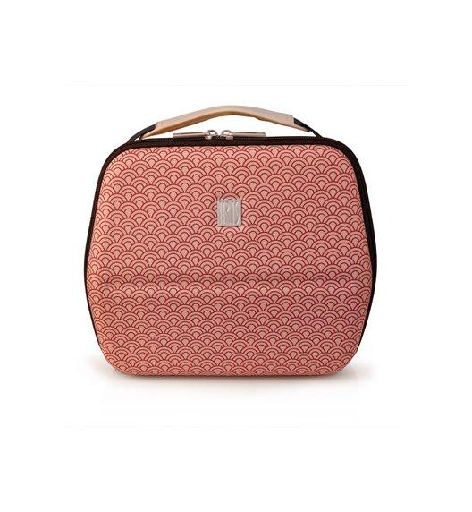 Stylowa torba na lunch z pojemnikami Bag Eva in Tokyo Iris w kolorze  beżowym / Btrzy