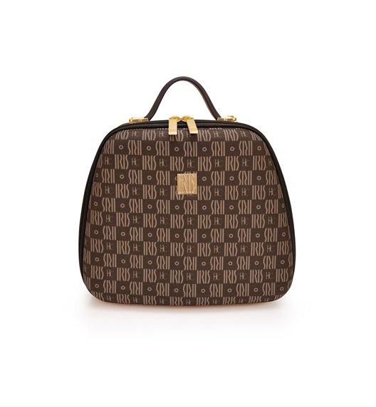 Modna torba na lunch z pojemnikami Bag Lola by JC marki Iris w kolorze brązowym / Btrzy