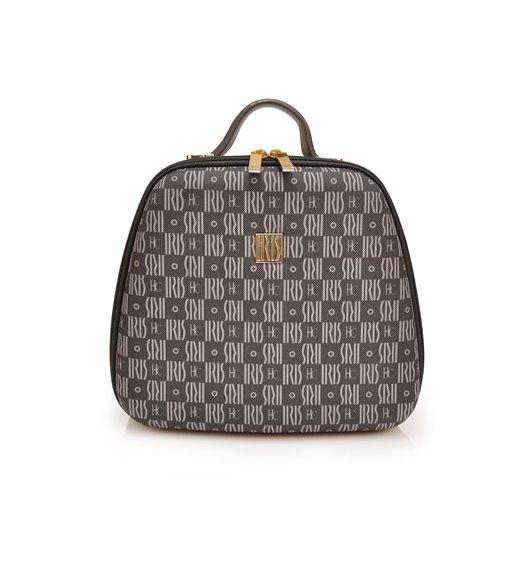 Modna torba na lunch z pojemnikami Bag Lola by JC marki Iris w kolorze czarnym / Btrzy