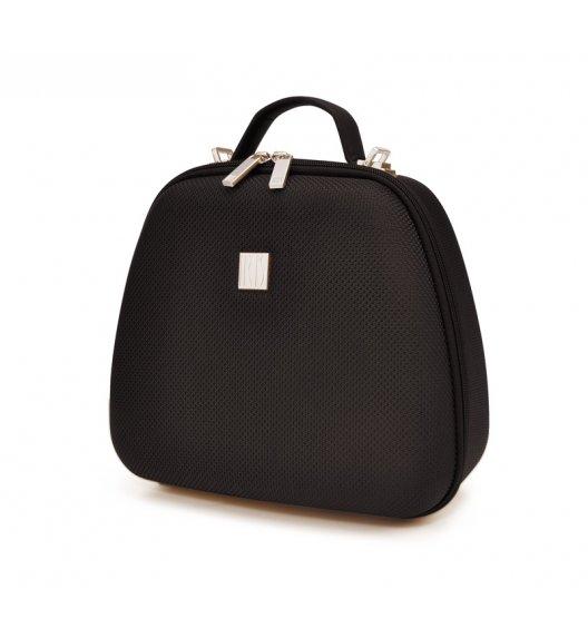 Elegancka torba na lunch z pojemnikami Bag Lola marki Iris w kolorze czarnym / Btrzy