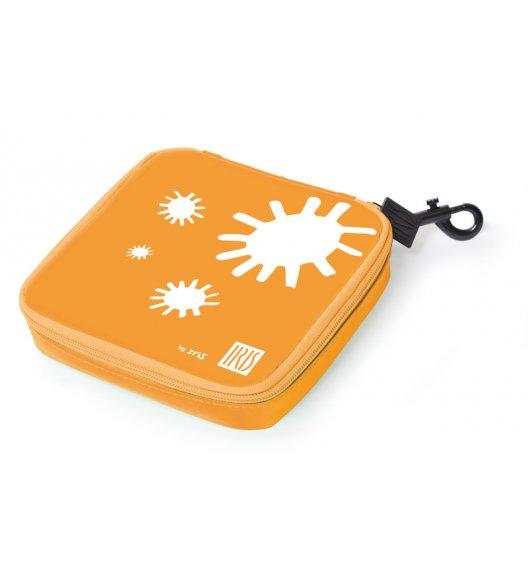 Organizer kwadratowy na kanapkę i przekąski Lunch Bag marki Iris w kolorze pomarańczowym / Btrzy