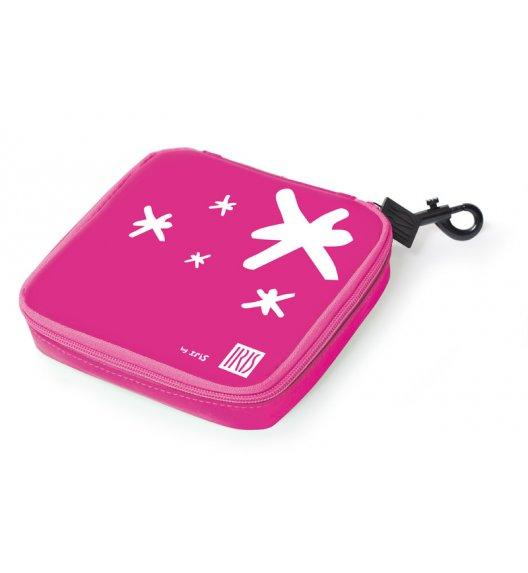 Organizer kwadratowy na kanapkę i przekąski Lunch Bag marki Iris w kolorze różowym / Btrzy