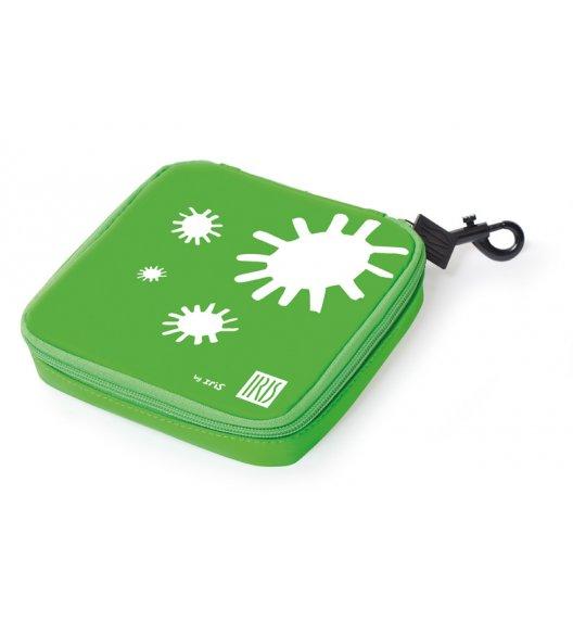 Organizer kwadratowy na kanapkę i przekąski Lunch Bag marki Iris w kolorze zielonym / Btrzy