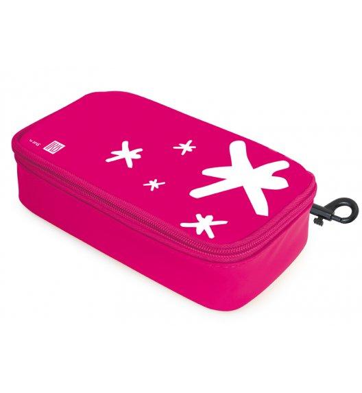 Organizer podłużny na kanapkę i przekąski Lunch Bag marki Iris w kolorze różowym / Btrzy