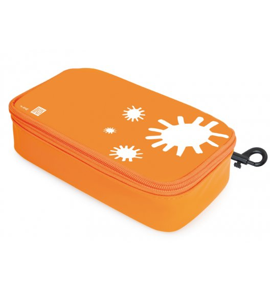 Organizer podłużny na kanapkę i przekąski Lunch Bag marki Iris w kolorze pomarańczowym / Btrzy