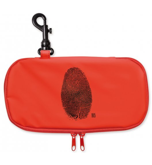 Organizer podłużny na kanapkę i przekąski Lunch Bag Teen Boy marki Iris w kolorze czerwonym / Btrzy