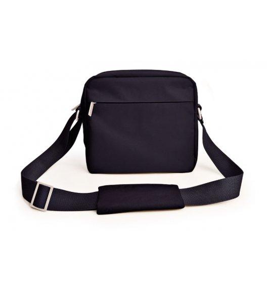 Praktyczna męska torba na lunch Urban Iris na ramię w kolorze czarnym / Btrzy