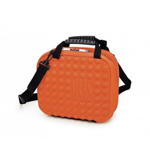 Praktyczna torba mini na lunch Twin Bag Iris z pojemnikami w kolorze pomarańczowym / Btrzy