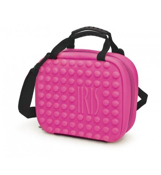 Praktyczna torba mini na lunch Twin Bag Iris z pojemnikami w kolorze różowym/ Btrzy