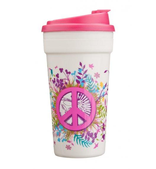 Cool Gear Termiczny kubek z motywem 426 ml w kolorze biało-różowym / Btrzy