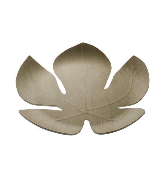 Legnoart Adamo Taca ozdobna wykonana z drewna klonowego 41 x 40,5 cm w kształcie liścia. Btrzy.