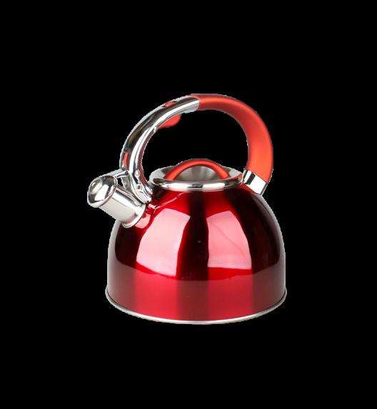 TADAR COLORADO Czajnik 2,5 L ze stali nierdzewnej / czerwony / indukcja