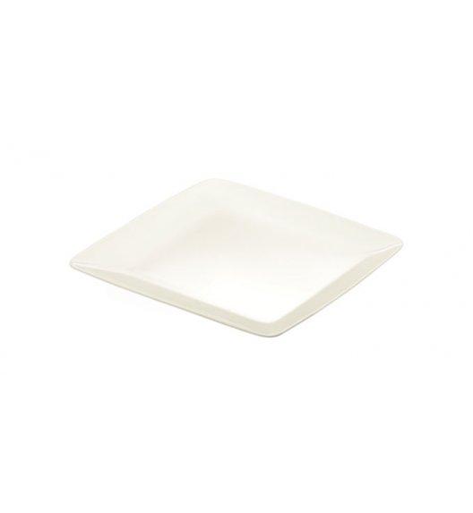 WYPRZEDAŻ! TESCOMA CREMA Talerz obiadowy kwadrat płytki, porcelana wysokiej jakości, 27 cm