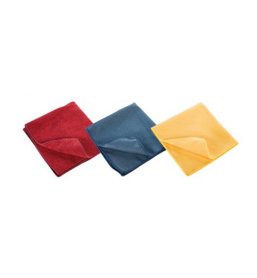 TESCOMA CLEAN KIT zestaw ściereczek domowych do różnych powierzchni, 3 sztuki, 35 x 35 cm.