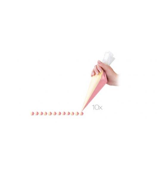 TESCOMA DELICIA Podwójny rękaw cukierniczy 10 szt. 30 cm, - ZOBACZ FILM.