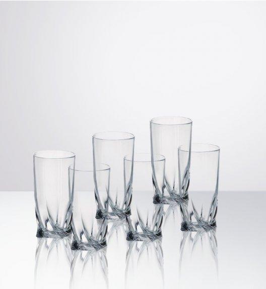 BOHEMIA QUADRO Komplet 6 kieliszków do wódki / szkło kryształowe / CR2A500