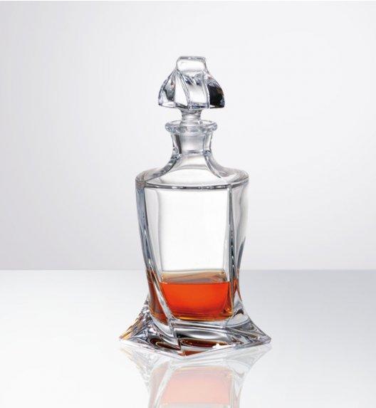 BOHEMIA QUADRO Karafka do likieru 500 ml / szkło kryształowe / CR1A500