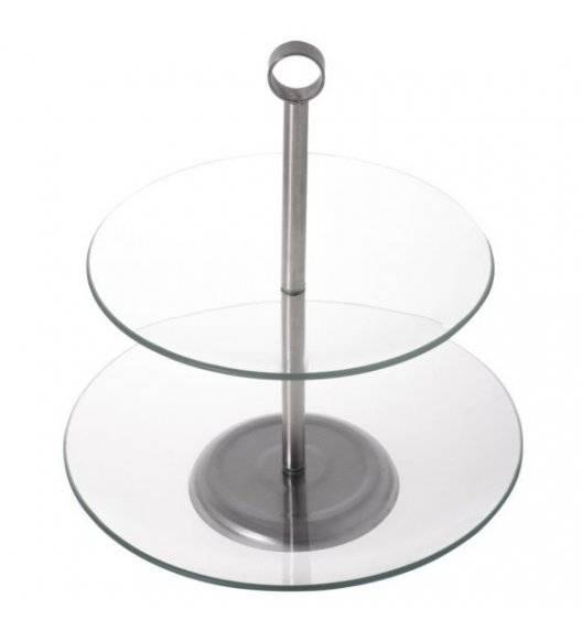ODELO LILY Okrągła patera na ciasto / 2 poziomy / szkło