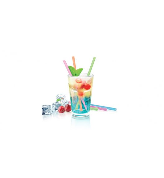 TESCOMA myDRINK Słomki do drinków z mieszadełkiem 24 sztuk ZOBACZ FILM