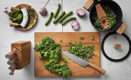 Jak dbać o drewniane przybory kuchenne?